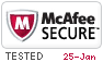 McAfee Secure 1/25/2021