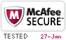 McAfee Secure 1/27/2021
