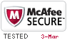 McAfee Secure 3/3/2021