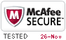 McAfee Secure 11/26/2020