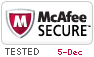 McAfee Secure 12/5/2020