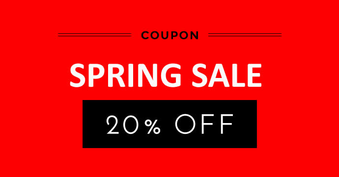 SPRING SALE IS ON